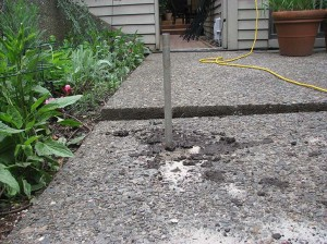 Concrete Restoration Before